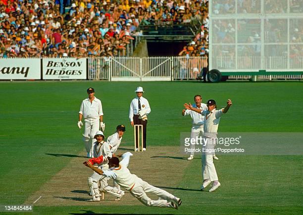 O'Keeffe caught Brearley bowled Underwood Australia v England Centenary Test Melbourne Mar 197677