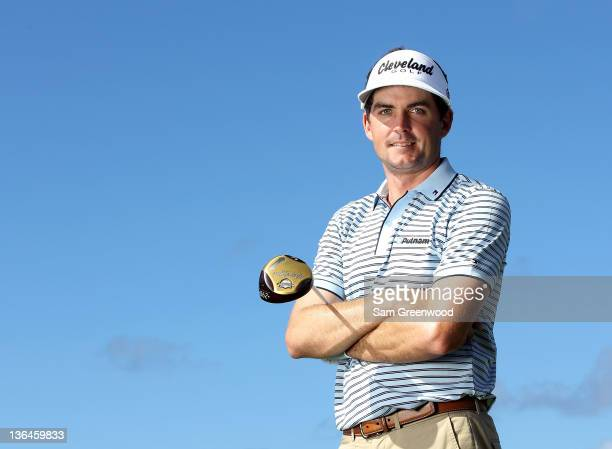 Keegan Bradley poses for a portrait during the proam round of the Hyundai Tournament of Champions at the Plantation course on January 5 2012 in...