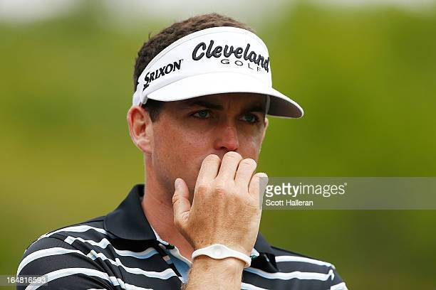 Keegan Bradley waits on the second tee during the first round of the Shell Houston Open at the Redstone Golf Club on March 28 2013 in Humble Texas