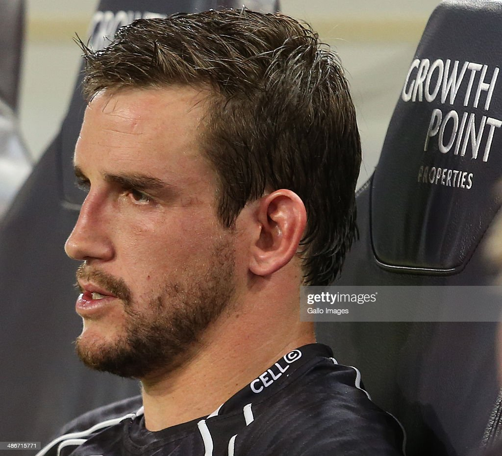 Keegan Daniel of the Cell C Sharks during the Super Rugby match between Cell C Sharks and Highlanders at Growthpoint Kings Park on April 25, 2014 in Durban, South Africa.