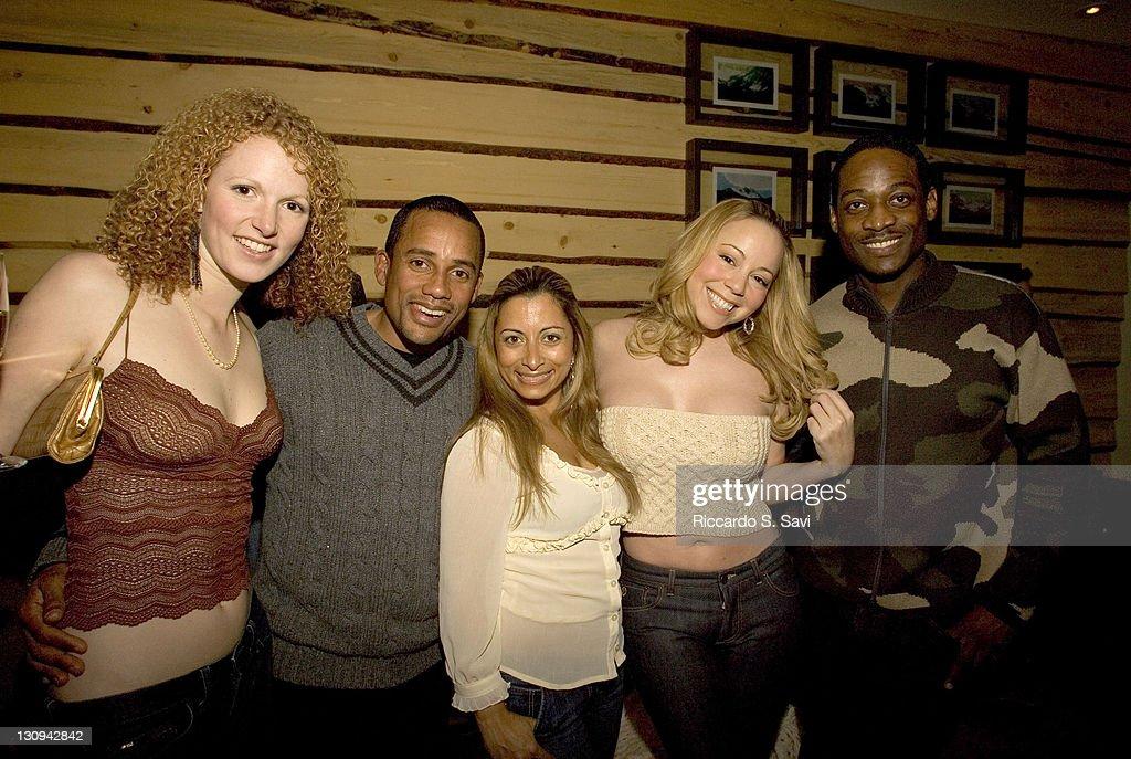 Keegan Deganahl Hill Harper Jasmine Dotiwala Mariah Carey and Trey Lorenz