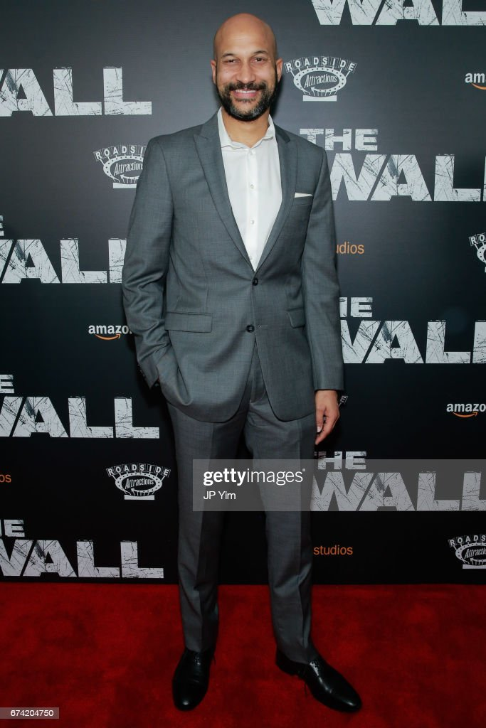 Keegan Michael Key attends the premiere of 'The Wall' at Regal Union Square Theatre, Stadium 14 on April 27, 2017 in New York City.