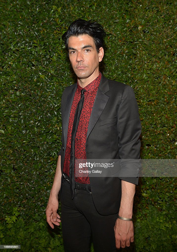 Keegan Singh attends Vogue and MAC Cosmetics dinner hosted by Lisa Love and John Demsey in honor of Prabal Gurung at the Chateau Marmont on Monday, May 13, 2013 in Los Angeles, California.