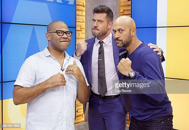 AMERICA KeeganMichael Key and Jordan Peele are guests on 'Good Morning America' 8/30/16 airing on the ABC Television Network