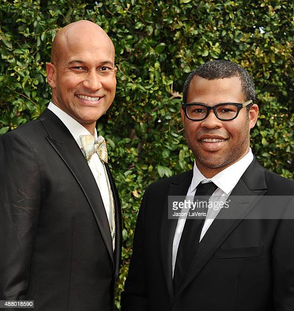 KeeganMichael Key and Jordan Peele attend the 2015 Creative Arts Emmy Awards at Microsoft Theater on September 12 2015 in Los Angeles California
