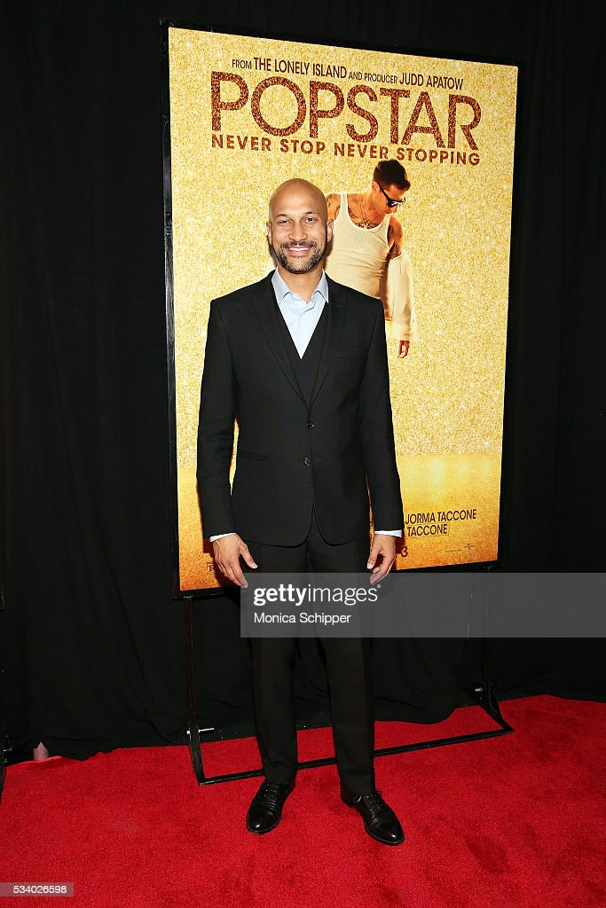 <a gi-track='captionPersonalityLinkClicked' href=/galleries/search?phrase=Keegan-Michael+Key&family=editorial&specificpeople=630311 ng-click='$event.stopPropagation()'>Keegan-Michael Key</a> attends 'Popstar: Never Stop Never Stopping' New York Premiere at AMC Loews Lincoln Square 13 theater on May 24, 2016 in New York City.