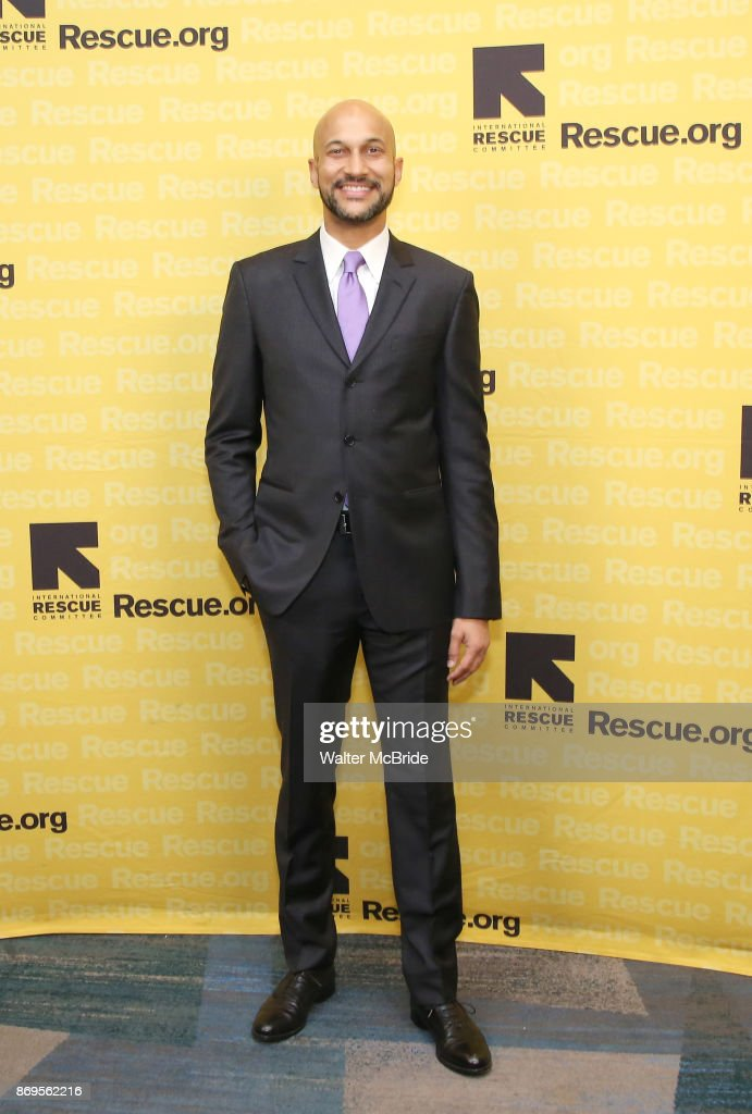 Keegan-Michael Key attends The 2017 Rescue Dinner hosted by IRC at New York Hilton Midtown on November 2, 2017 in New York City.