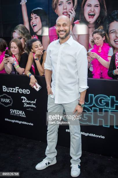 KeeganMichael Key attends the 'Rough Night' New York Premiere at AMC Lowes Lincoln Square on June 12 2017 in New York City