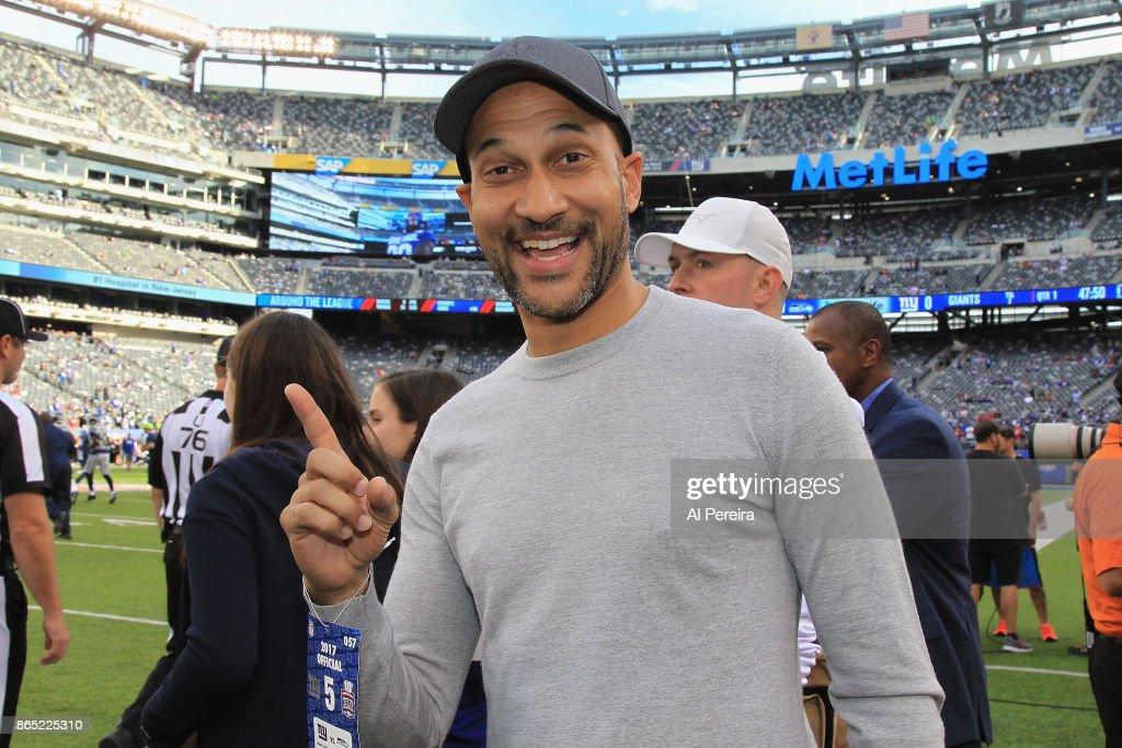 Celebrities Attend Seattle Seahawks vs New York Giants - October 22, 2017