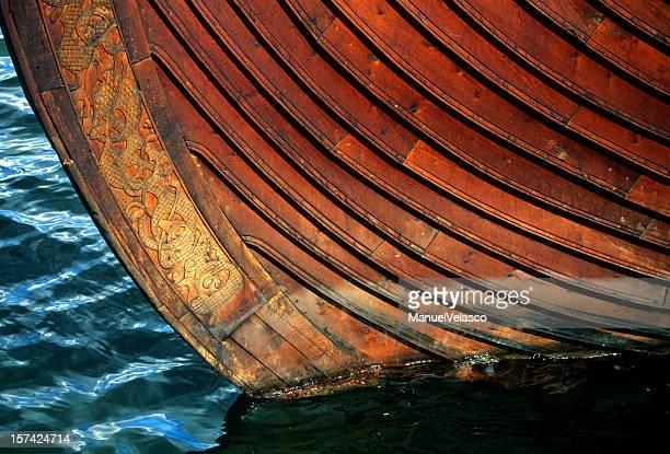 keel of a viking ship