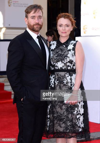 Keeley Hawes and Matthew Macfadyen attend the Arqiva British Academy Television Awards held at the Theatre Royal on May 18 2014 in London England