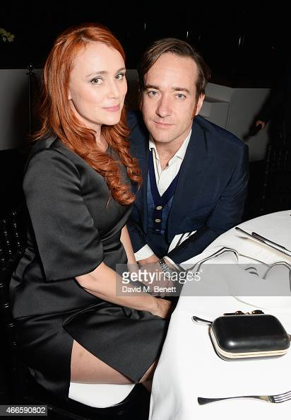 Keeley Hawes and Matthew Macfadyen attend the BFI London Film Festival IWC Gala Dinner in honour of the BFI at Battersea Evolution Marquee on October...