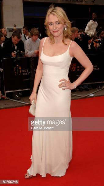 Keeley Hawes arrives at the British Academy Television Awards 2008 at the Palladium on April 20 2008 in London England