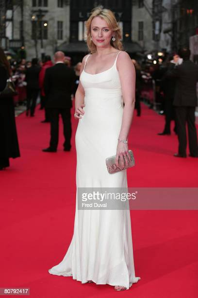 Keeley Hawes arrives at the British Academy Television Awards 2008 held at the London Palladium in London on April 20 2008 in London England
