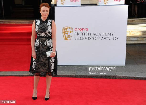 Keeley Hawes attends the Arqiva British Academy Television Awards at Theatre Royal on May 18 2014 in London England