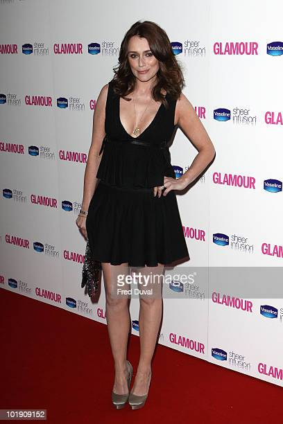 Keeley Hawes attends the Glamour Women of the Year awards at Berkeley Square Gardens on June 8 2010 in London England