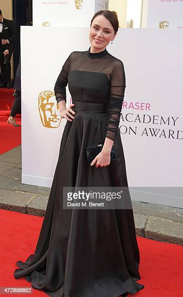 Keeley Hawes attends the House of Fraser British Academy Television Awards at Theatre Royal Drury Lane on May 10 2015 in London England