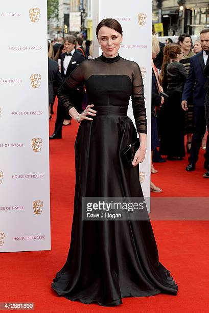 Keeley Hawes attends the House of Fraser British Academy Television Awards at Theatre Royal on May 10 2015 in London England