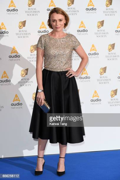 Keeley Hawes attends the Royal Television Society Programme Awards at the Grosvenor House on March 21 2017 in London United Kingdom