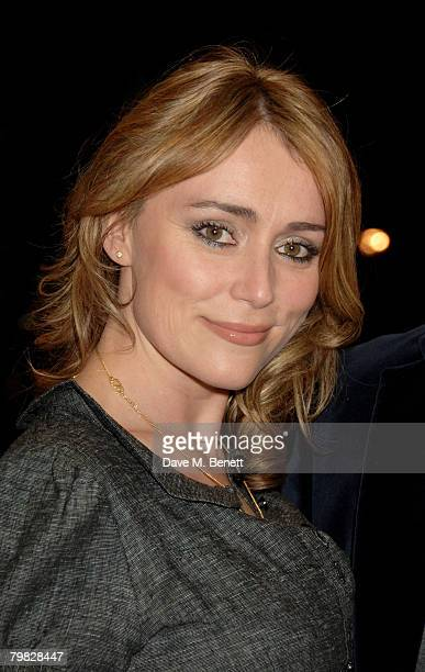 Keeley Hawes attends the world premiere of 'The Bank Job' at the Odeon West End on February 18 2008 in London England