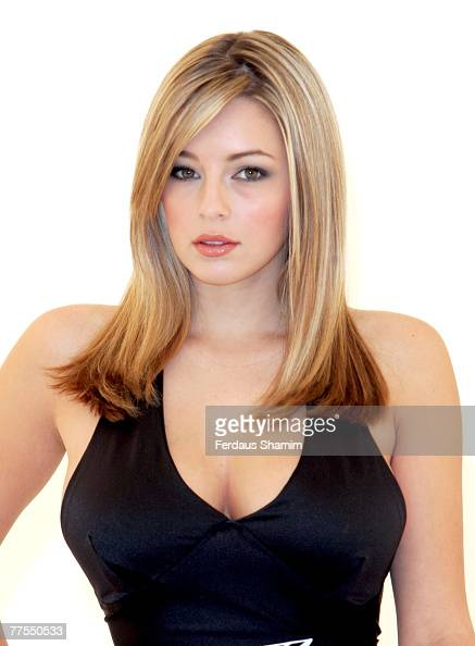 Keeley Hazell - The New Face of Formula One 2006 ? Photocall