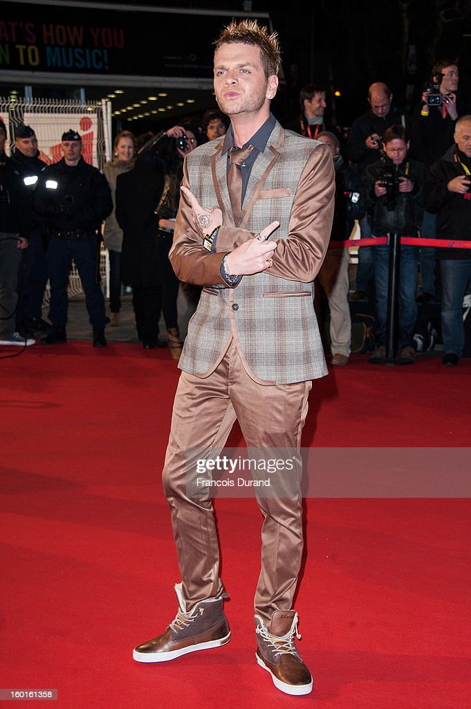 Keen V attends the NRJ Music Awards 2013 at Palais des Festivals on January 26, 2013 in Cannes, France.