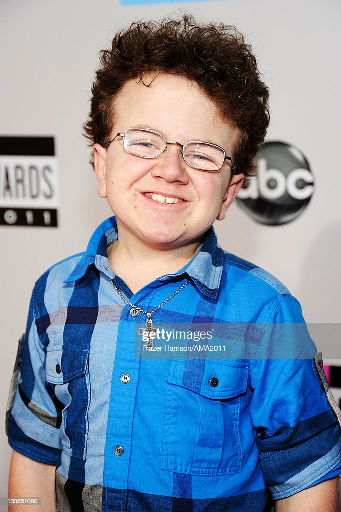 Keenan Cahill arrives at the 2011 American Music Awards held at Nokia Theatre LA LIVE on November 20 2011 in Los Angeles California