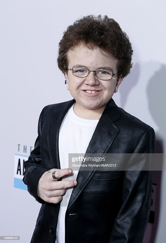 Keenan Cahill attends the 40th American Music Awards held at Nokia Theatre LA Live on November 18 2012 in Los Angeles California