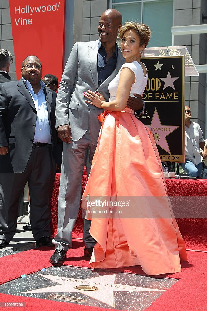Keenan Ivory Wayans and Jennifer Lopez attend the ceremony honoring Jennifer Lopez with a Star on The Hollywood Walk of Fame held on June 20, 2013 in Hollywood, California.