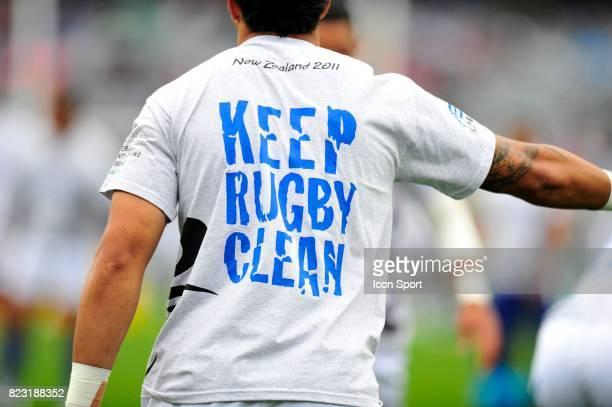 Keep Rugby Clean Fidji / Samoa Coupe du Monde 2011 Nouvelle Zelande