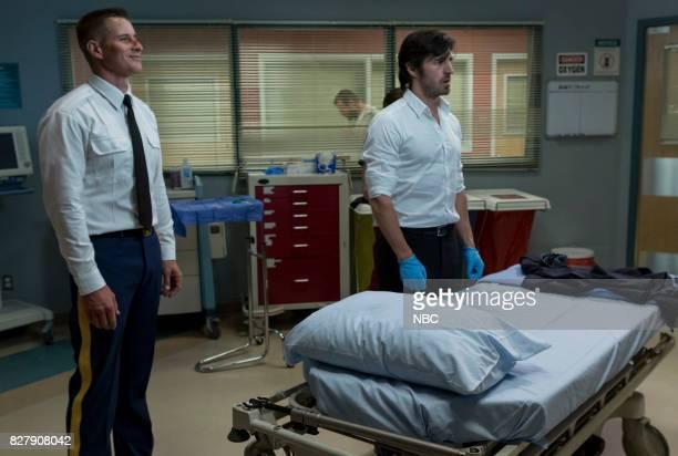 SHIFT 'Keep The Faith' Episode 407 Pictured Brendan Fehr as Drew Alister Eoin Macken as TC Callahan