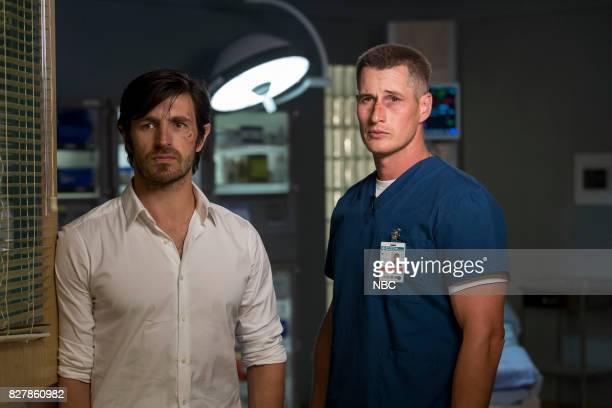 SHIFT 'Keep The Faith' Episode 407 Pictured Eoin Macken as TC Callahan Brendan Fehr as Drew Alister