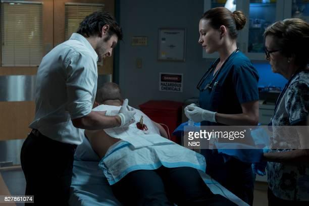 SHIFT 'Keep The Faith' Episode 407 Pictured Eoin Macken as TC Callahan Josh Kelly as Xavier Arnold Jill Flint as Jordan Alexander