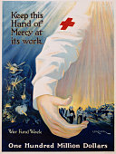 Keep This Hand of Mercy at Its Work Poster by RG Morgan