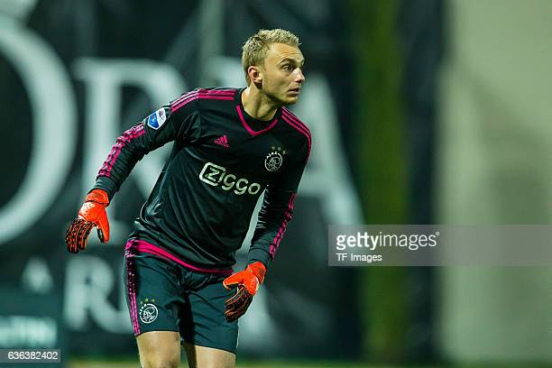 Keeper Jasper Cillessen of Ajax Amsterdam in action during the Friendly Match between Hamburger SV and Ajax Amsterdam at Gloria Sports Center on...