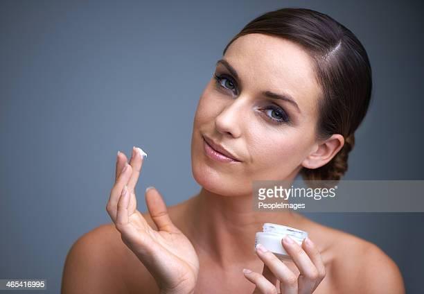 Tenendo la sua pelle sana