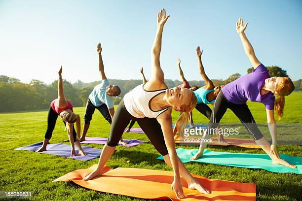 Keeping up with their health - Yoga