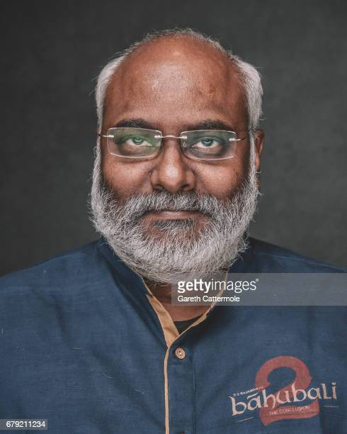 Keeravaani is photographed at a portrait session ahead of the film release of 'Baahubali 2 The Conclusion' at BFI Southbank on May 2 2017 in London...