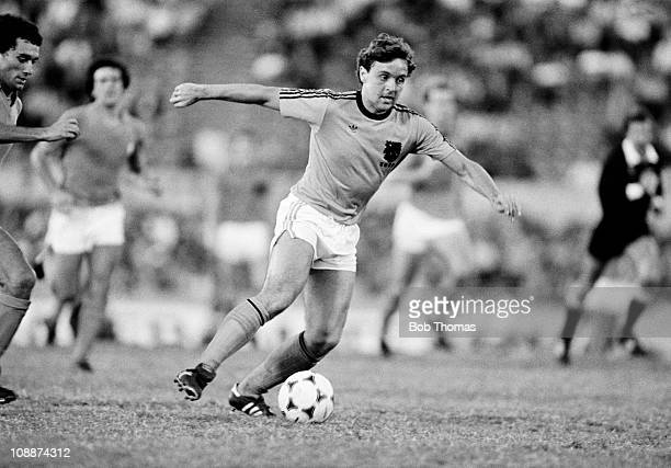 Kees Tol in action for Holland against Uruguay in the Copa De Oro at the Centenario Stadium in Montevideo January 1981 The match ended in a 11 draw