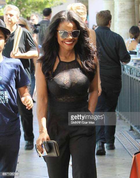 Keesha Sharp is seen on June 17 2017 in Los Angeles California