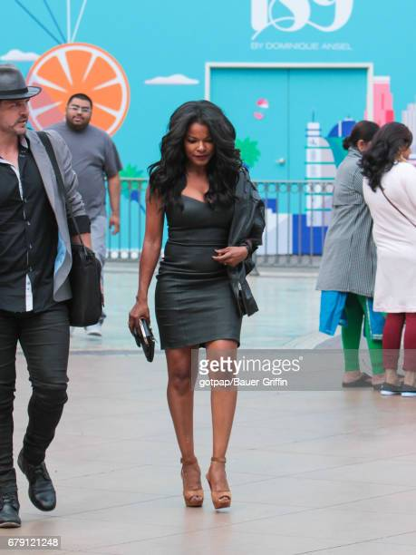 Keesha Sharp is seen on May 04 2017 in Los Angeles California
