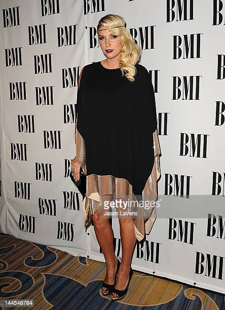 Ke$ha attends the 60th annual BMI Pop Music Awards at the Beverly Wilshire Four Seasons Hotel on May 15 2012 in Beverly Hills California