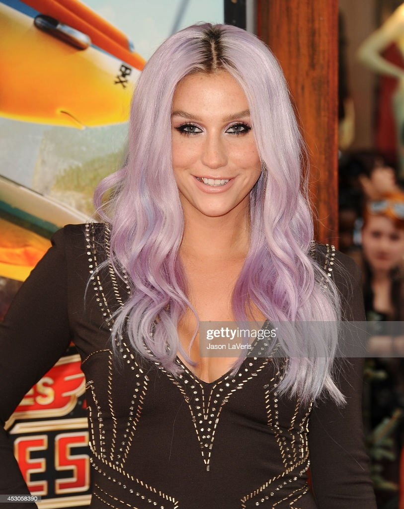 Ke$ha attends the premiere of 'Planes Fire Rescue' at the El Capitan Theatre on July 15 2014 in Hollywood California