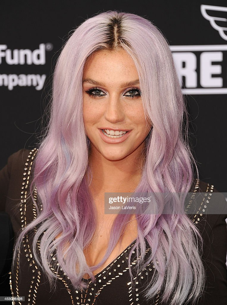 Ke$ha attends the premiere of 'Planes: Fire & Rescue' at the El Capitan Theatre on July 15, 2014 in Hollywood, California.