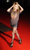 Ke$ha attends the 'This Is It' UK film premiere at the Odeon Leicester Square on October 27 2009 in London England