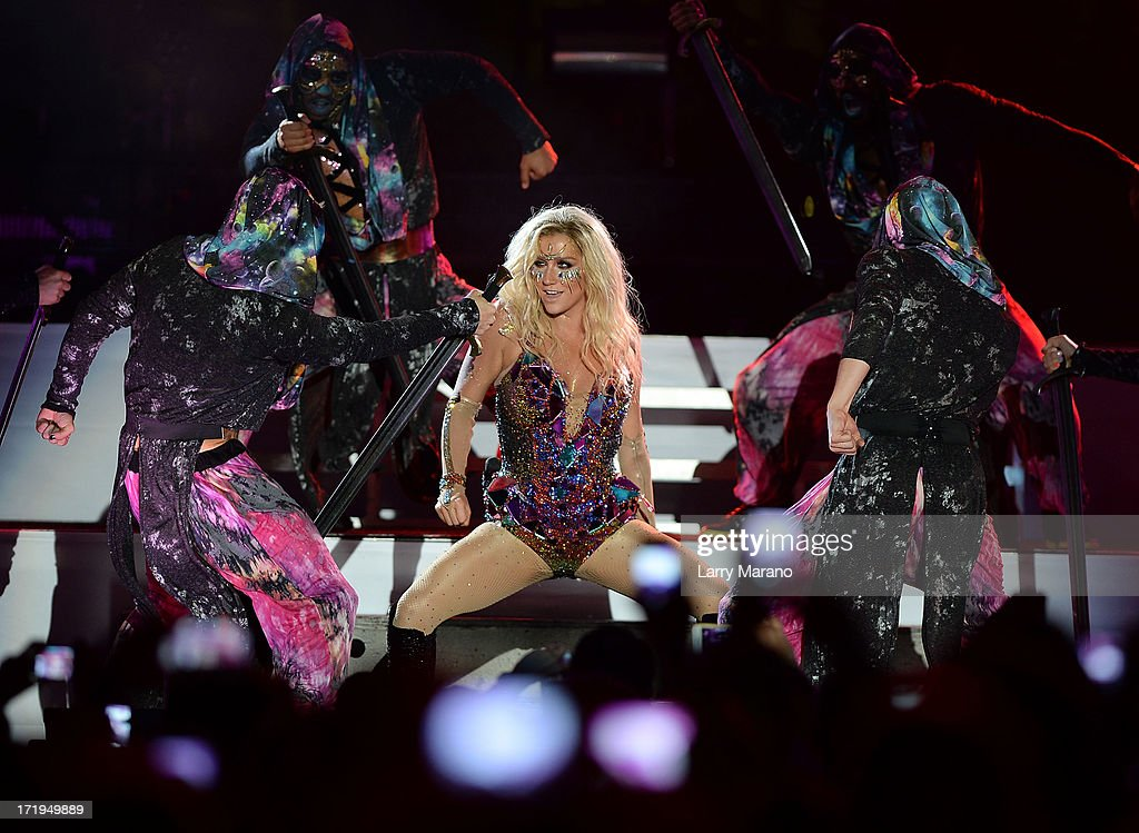<a gi-track='captionPersonalityLinkClicked' href=/galleries/search?phrase=Ke%24ha&family=editorial&specificpeople=6718222 ng-click='$event.stopPropagation()'>Ke$ha</a> performs live at the iHeartRadio Ultimate Pool Party Presented by VISIT FLORIDA at Fontainebleau's BleauLive in Miami on June 29, 2013 in Miami Beach, Florida.