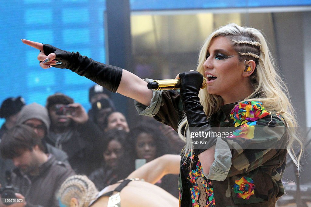 "Ke$ha Performs On NBC's ""Today"" Annual Thanksgiving Week Of Concerts"