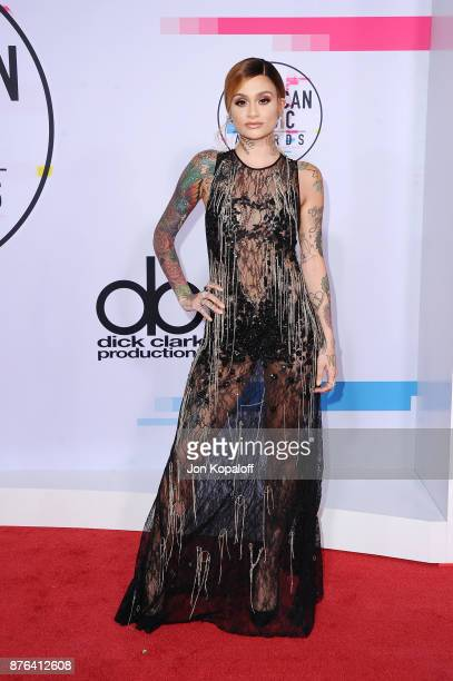 Kehlani attends the 2017 American Music Awards at Microsoft Theater on November 19 2017 in Los Angeles California