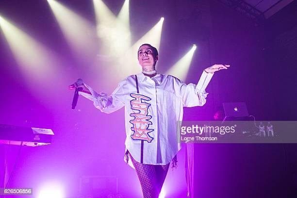 Kehlani performs at Village Underground on November 29 2016 in London United Kingdom