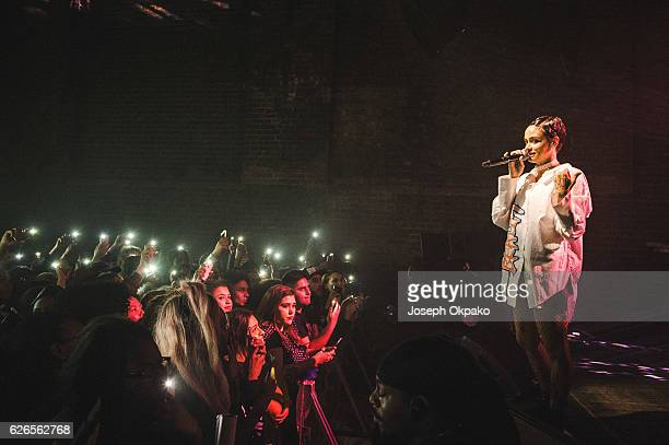 Kehlani performs at Village Underground on November 30 2016 in London England